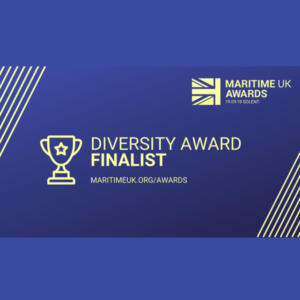 Spinnaker named Maritime UK Diversity Awards finalist