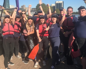The OSCAR Dragon Boat Race